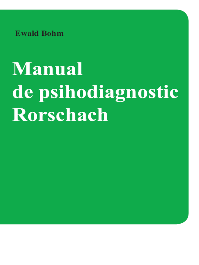 RORSCHACH®